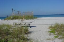 Property Photo: Beach in front of Scruggs Harbor