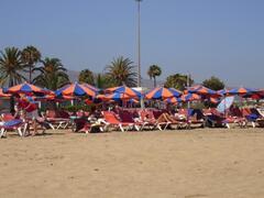 Maspalomas beach area