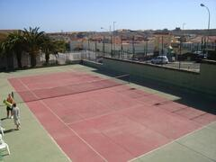 Tennis Courts are free to all guests
