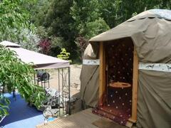 Property Photo: Luxury yurt