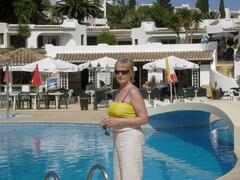 Property Photo: anne at pool.jpg