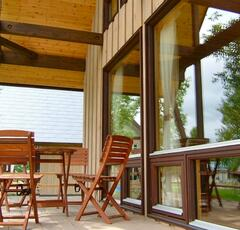 Property Photo: Enjoy Niseko's outdoor lifestyle on your own deck