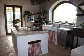 Complete country kitchen