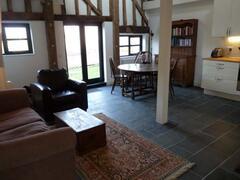 The Hay Loft Living Area