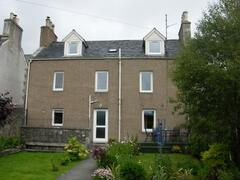 Property Photo: South of housing looking towards the River Helmsdale