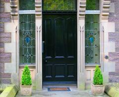 Property Photo: Front door to Croftweit