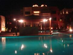 Property Photo: Kamareia Resort at night time
