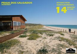 14 mins to Salgados Beach...