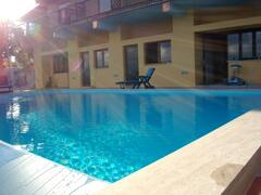 Property Photo: swimming pool and antrance to priora