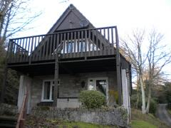 Property Photo: Outside of 56 Valley Lodge, Honicombe Park, St Anns Chapel, Cornwall