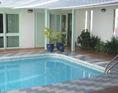 Patio & Swimming Pool area