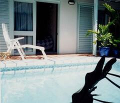 Pool & Bedroom Area