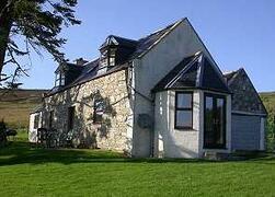 Property Photo: Folds Cottage on the hillside in Glenlivet