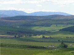 Property Photo: View to the Cairngorm mountains from the cottage