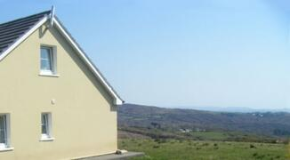 Property Photo: Gable end of house looking east towards Baltimore