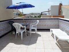 A second floor terrace