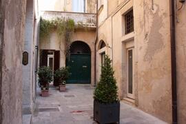 Corte Volturio. THe courtyard