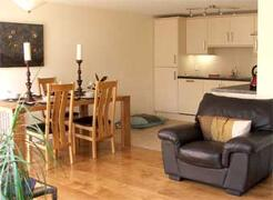 Property Photo: Living Area & Kitchen @The Wookey House