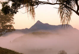 Property Photo: Mt Warning at Dawn