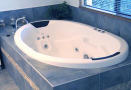 Property Photo: Cottage Spa Bath