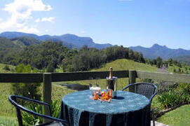 Gazebo with Views to Springbrook Ranges