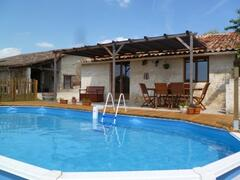 Property Photo: Gite Terrace & pool
