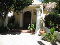 Property Photo: Entrance to villa