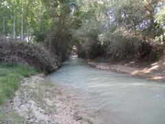 River Castril near cave