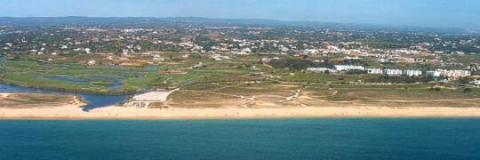 Salgados Beach - protect area