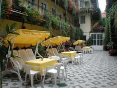 Property Photo: Inner courtyard of our hotel
