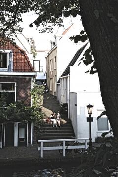 Property Photo: Look from across the Oudegracht