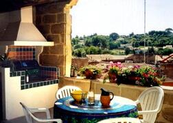 Property Photo: Terrace receives afternoon & evening sun, it has a BBQ and summer kitchen