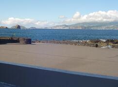 view of Faial, from Casa da Barca.  Prime Location on the waterfront