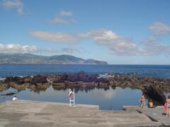 Natural Swimming Pool view from Casa da Barca.  Prime location!  free acess to a Natural Swimming pool