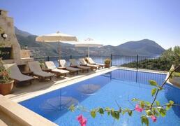 Property Photo: Villa Alisia offers sea views