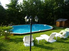 Property Photo: Pool heated in season