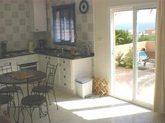 Fountain kitchen/dining area