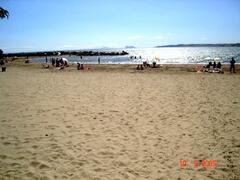 Spain, Gib & Morocco from local beach