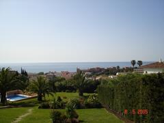 The view from Villa Tranquilla