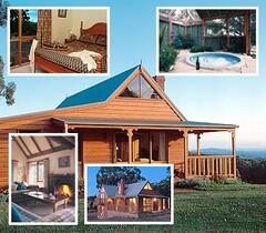 Property Photo: Luxurious cottages in a perfect setting, with open fireplaces and beautiful private garden spas