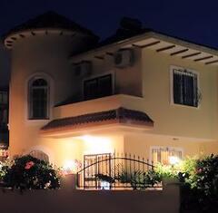 Property Photo: Villa at night
