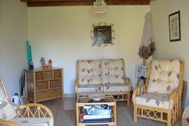 Sitting room with Patio doors