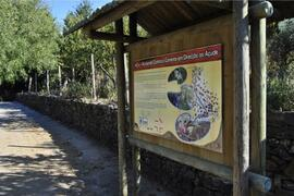 One of the hiking trails that start in Mosteiro