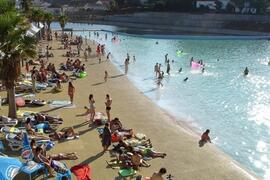 The River beach at Castenheira de Pera