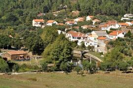 The Village of Mosteiro and the River Pera