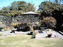 lovely enclosed Lawned Garden