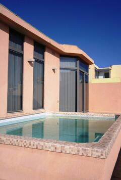 Property Photo: splash pool on front terrace