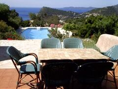 Property Photo: Pool and seaview