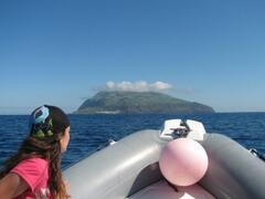 Boat trip to neighboring island of Corvo