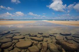low tide on famara